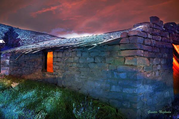 Photograph - Fairy Tale Cabin by Gunter Nezhoda