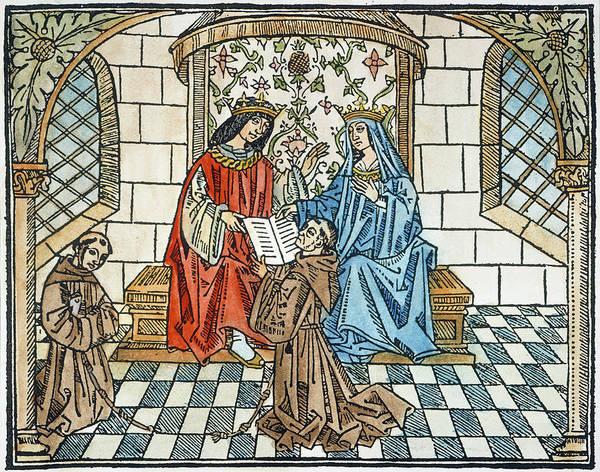 Painting - Ferdinand & Isabella by Granger