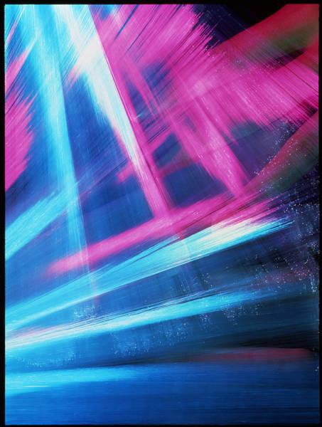Wall Art - Photograph - Fingers Weave Through Optical Fibres by Adam Hart-davis/science Photo Library