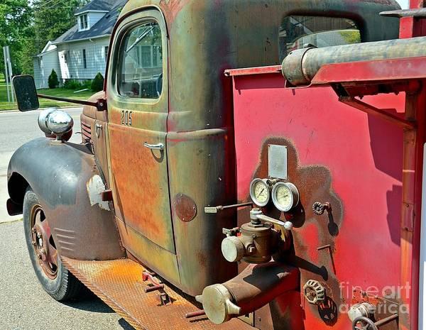 Photograph - Fire Truck by Randy J Heath