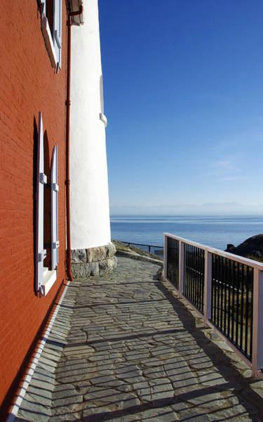 Photograph - Fisgard Lighthouse 2 by Marilyn Wilson