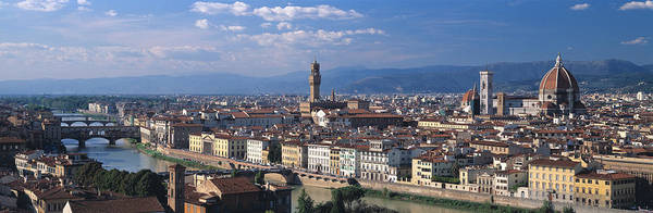 Wall Art - Photograph - Florence Italy by Panoramic Images