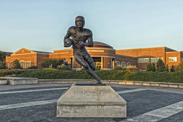 Methodist Photograph - Football Great Doak Walker - Southern Methodist University by Mountain Dreams