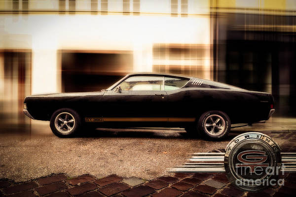 Photograph - Ford Torino G.t.390 by Hannes Cmarits