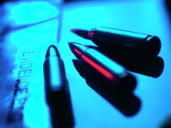 Medical Image Photograph - Forensic Evidence by Tek Image/science Photo Library