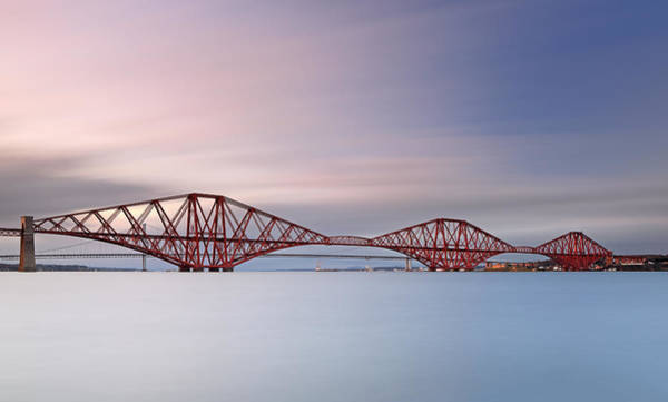 Photograph - Forth Railway Bridge by Grant Glendinning