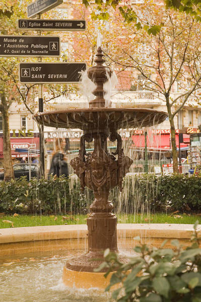 Photograph - Fountain by Mick Burkey