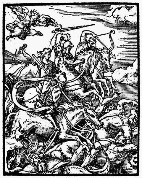 Painting - Four Horsemen by Granger
