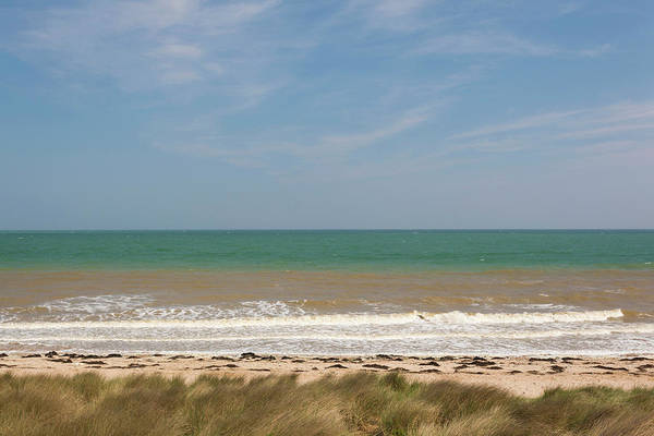 Juno Beach Photograph - France, Normandy, D-day Beaches Area by Walter Bibikow