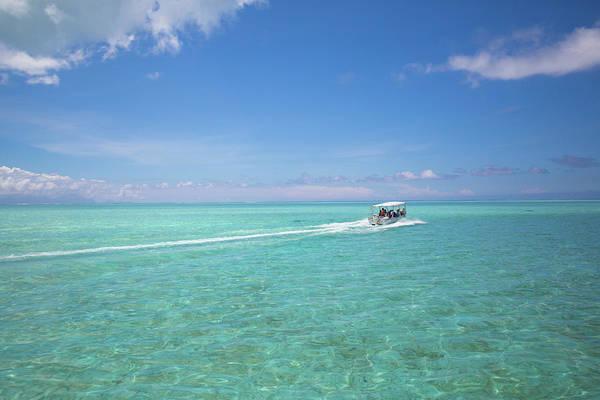 Atoll Photograph - French Polynesia, Society Island, Bora by Aliscia Young