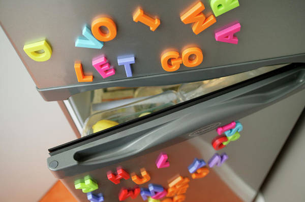 Wall Art - Photograph - Fridge Magnets by Michael Donne/science Photo Library