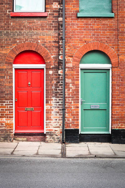 Old Wall Art - Photograph - Front Doors by Tom Gowanlock