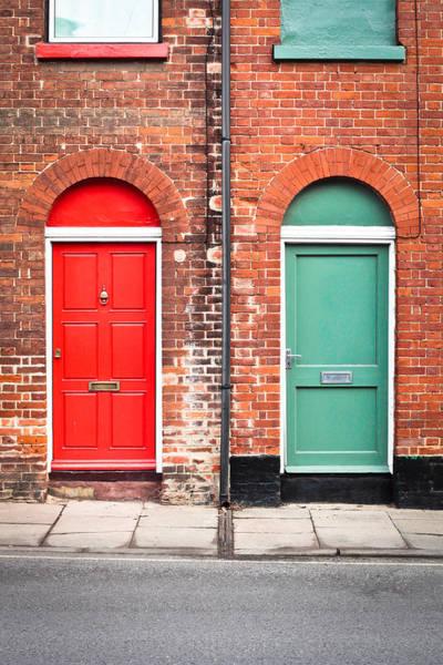 Door Wall Art - Photograph - Front Doors by Tom Gowanlock