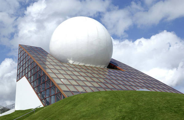 Wall Art - Photograph - Futuroscope Building by Steve Allen/science Photo Library
