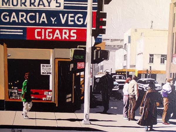 Garcia Y Vega Art Print by Paul Guyer