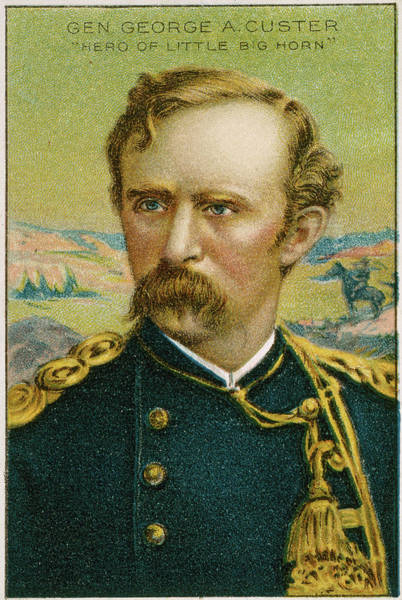 Wall Art - Painting - George Armstrong Custer (1839-1876) by Granger