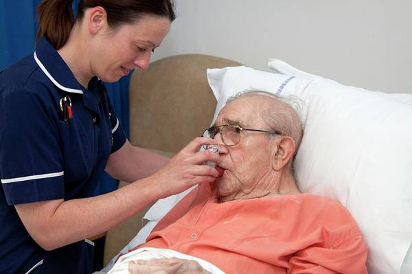 Chronic Wall Art - Photograph - Geriatric Nursing by Life In View/science Photo Library