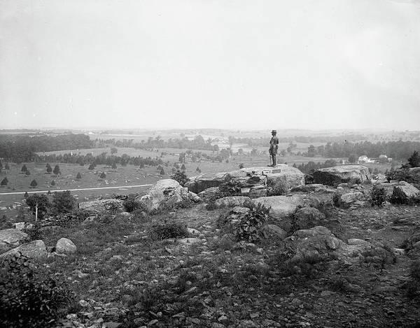 Gettysburg Battlefield Photograph - Gettysburg, C1903 by Granger
