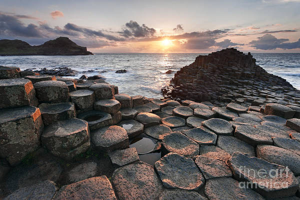 County Antrim Wall Art - Photograph - Giant's Causeway 2 by Rod McLean