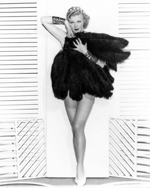 Wall Art - Photograph - Ginger Rogers by Silver Screen