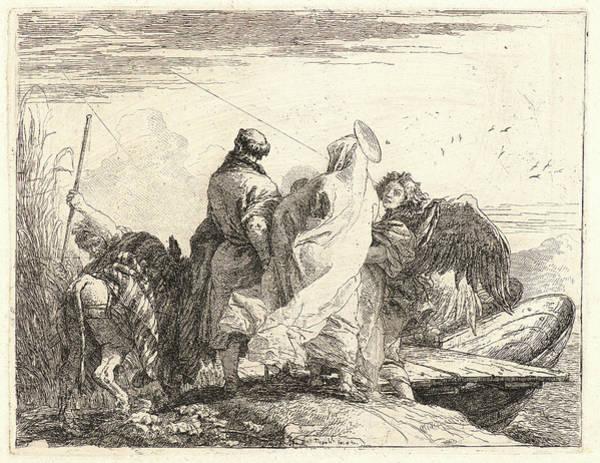 Prepare Drawing - Giovanni Domenico Tiepolo Italian, 1727 - 1804. The Holy by Litz Collection