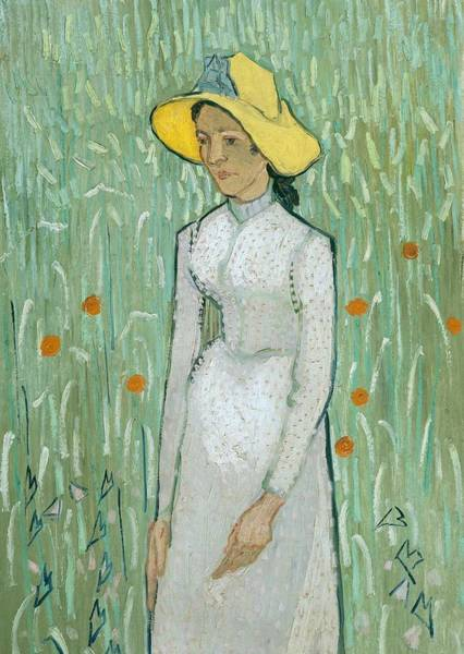 Vincent Van Gogh Painting - Girl In White by Vincent van Gogh