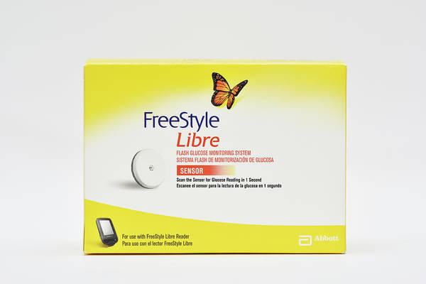 Freestyle Photograph - Glucose Monitoring Kit With Subcutaneous Sensor by Dr P. Marazzi/science Photo Library