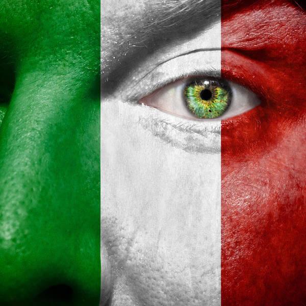Italian Football Wall Art - Photograph - Go Italy by Semmick Photo