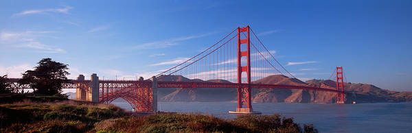 Suspended Photograph - Golden Gate Bridge San Francisco by Panoramic Images