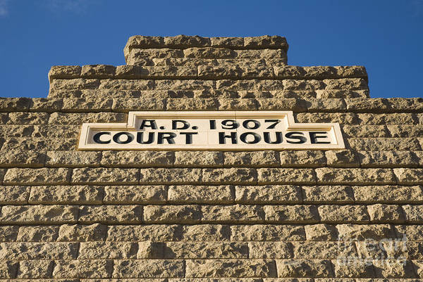 Photograph - Goldfield Courthouse by Dan Suzio