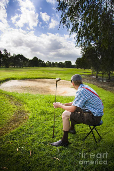 Photograph - Golfer by Jorgo Photography - Wall Art Gallery
