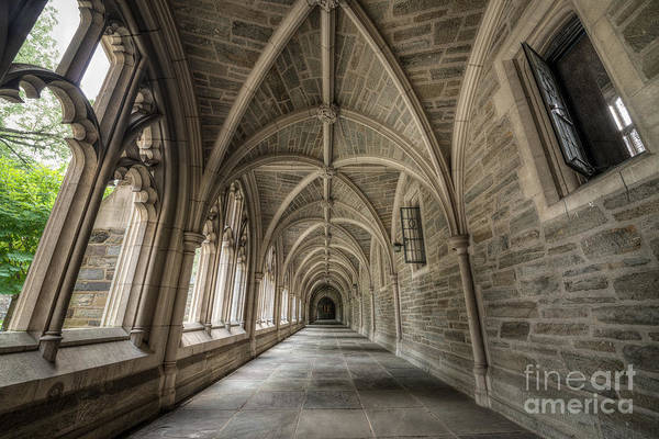 Wall Art - Photograph - Gothic Hall At Princeton Nj by Michael Ver Sprill