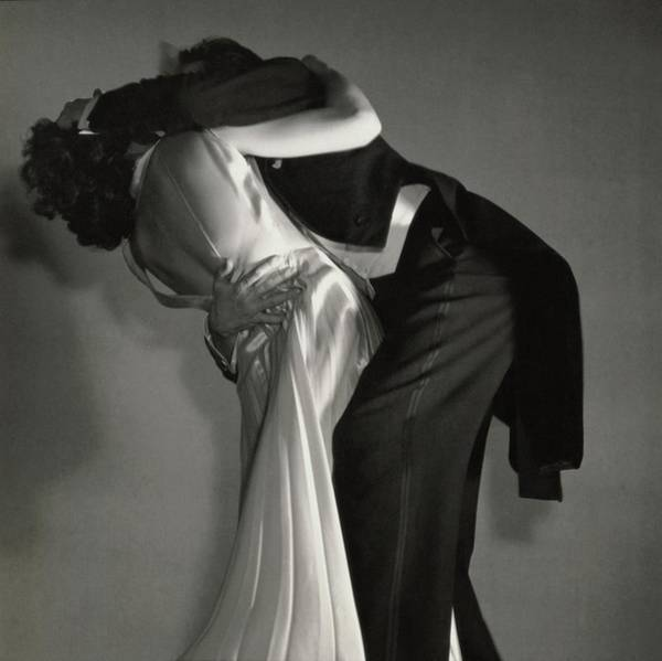 Formal Wear Photograph - Grace And Paul Hartman Dancing by Edward Steichen