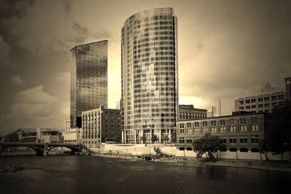 Photograph - Grand Rapids Michigan by DMiller