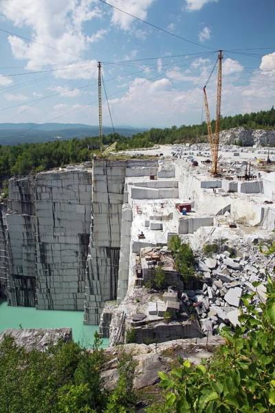 Wall Art - Photograph - Granite Quarry by Jim West