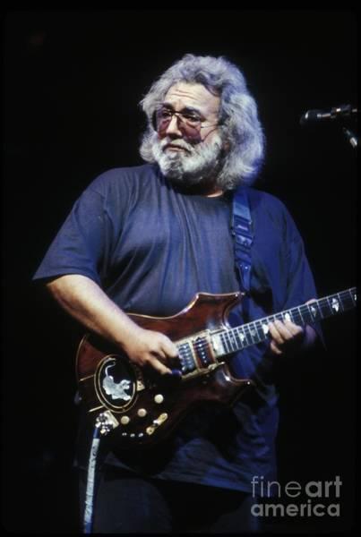 Folk Singer Photograph - Grateful Dead - Jerry Garcia by Concert Photos