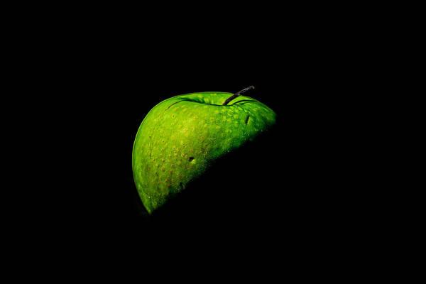 Photograph - Green Apple by Peter Lakomy