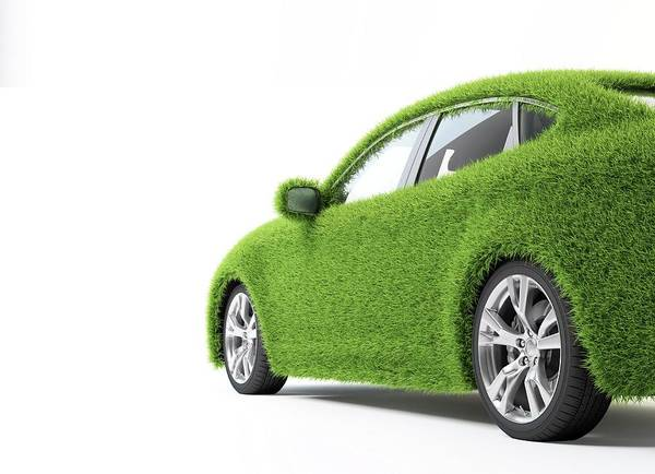 Wall Art - Photograph - Green Car by Andrzej Wojcicki/science Photo Library