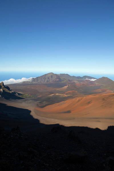 Haleakala Crater Photograph - Haleakala National Park, Maui, Hawaii by Douglas Peebles