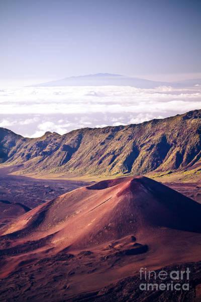 Photograph - Haleakala Sunrise On The Summit Maui Hawaii - Kalahaku Overlook by Sharon Mau