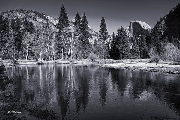 Merced River Photograph - Half Dome  by Bill Roberts