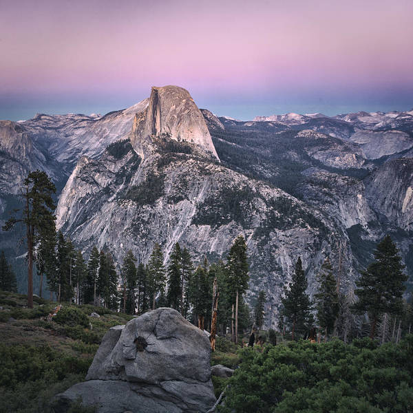 Yosemite Half Dome Wall Art - Photograph - Half Dome by Robert Fawcett