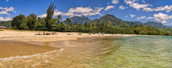 Photograph - Hanalei Bay by Gordon Engebretson