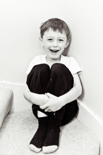 Little Person Wall Art - Photograph - Happy Child by Tom Gowanlock
