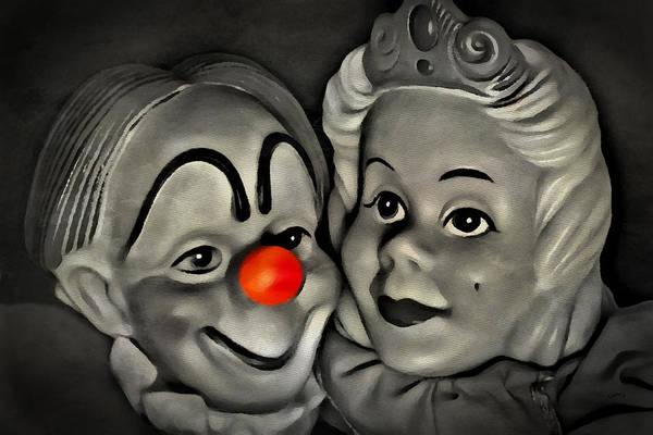 Photograph - Happy Couple by Jeff  Gettis