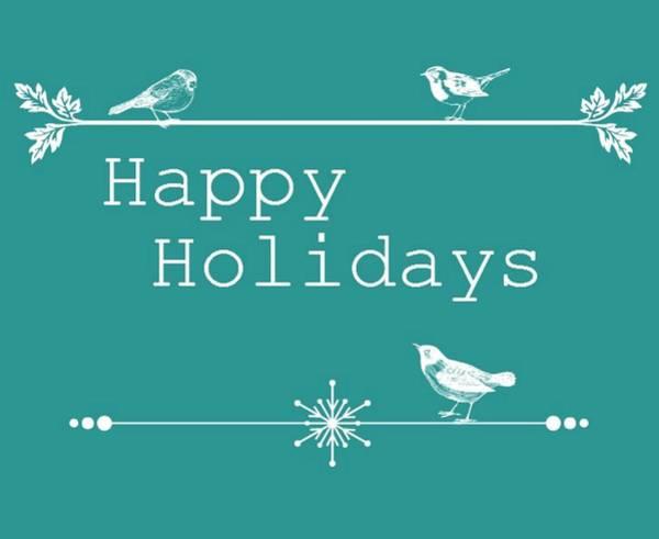 Wall Art - Digital Art - Happy Holidays by Cathie Tyler