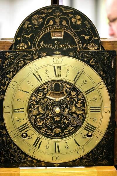 Wall Art - Photograph - Harrison's Precision Pendulum Clock 2 by Adam Hart-davis/science Photo Library