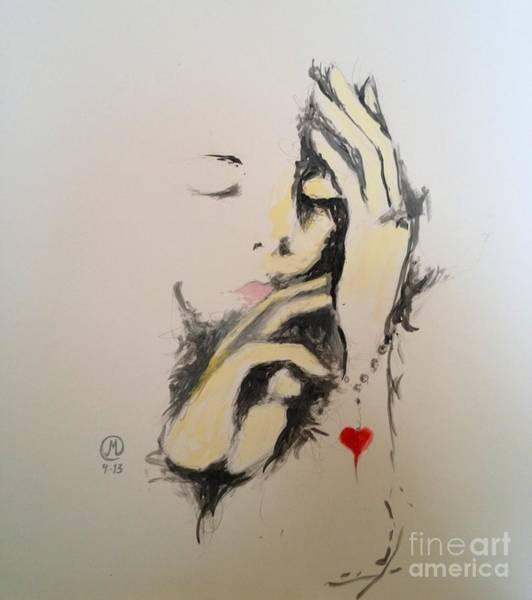 Painting - Heart Bracelet by Marat Essex