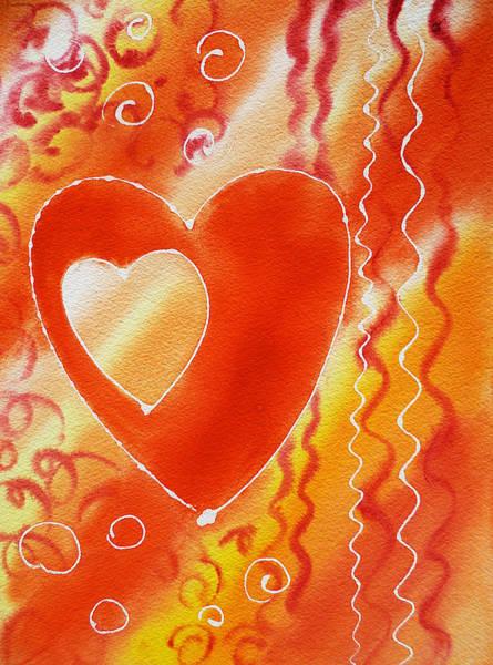 Painting - Hearts For Valentine by Irina Sztukowski