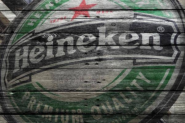 Pilsner Wall Art - Photograph - Heineken by Joe Hamilton